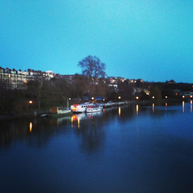 Richmond at twilight