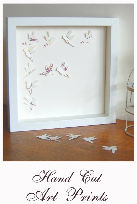 Laura Felicity Hand Cut Art Prints Link