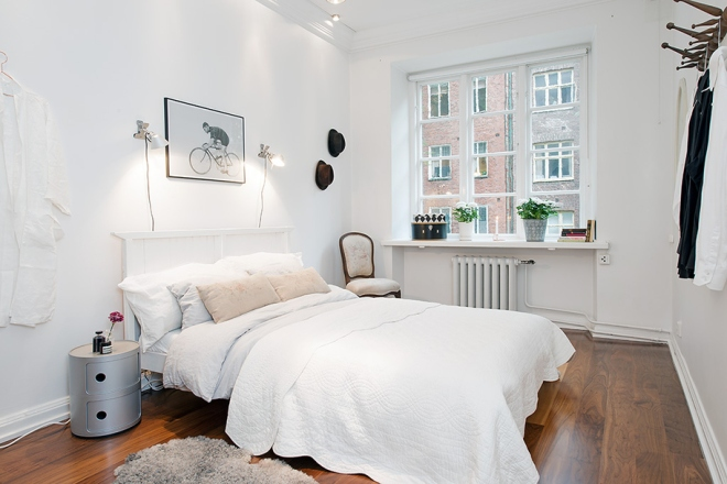 Swedish bedroom