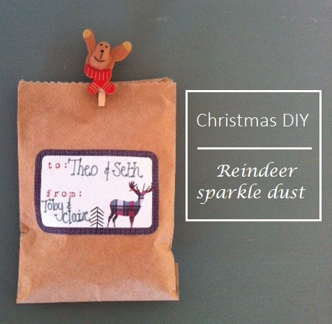 Reindeer sparkle dust