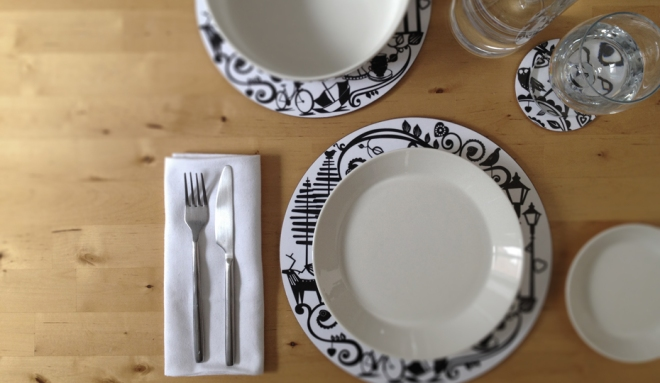 Hanna Francis table mats