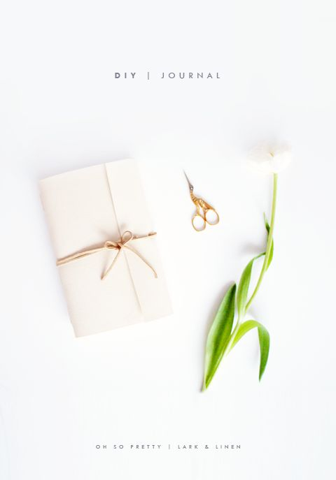 DIY journal - Lark and Linen