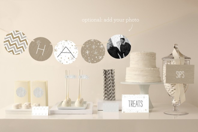 Party accessories from Minted