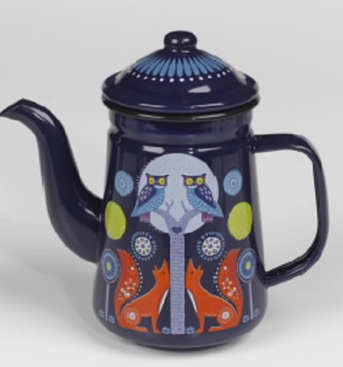 Wild and Wolf coffee pot