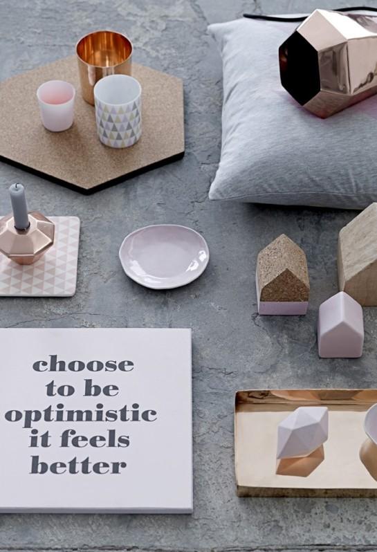 Bloomingville geometric accessories