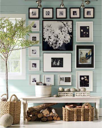 Pinterest - Mint and grey