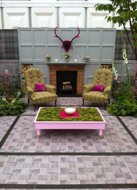 House of Fraser at Chelsea Flower show via Celebrate Creation