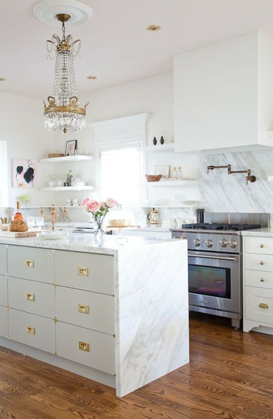 Gold kitchen