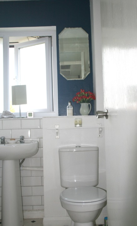 Navy bathroom 7