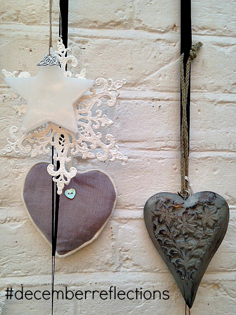 White and Grey Christmas decorations