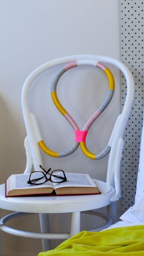 Threaded chair