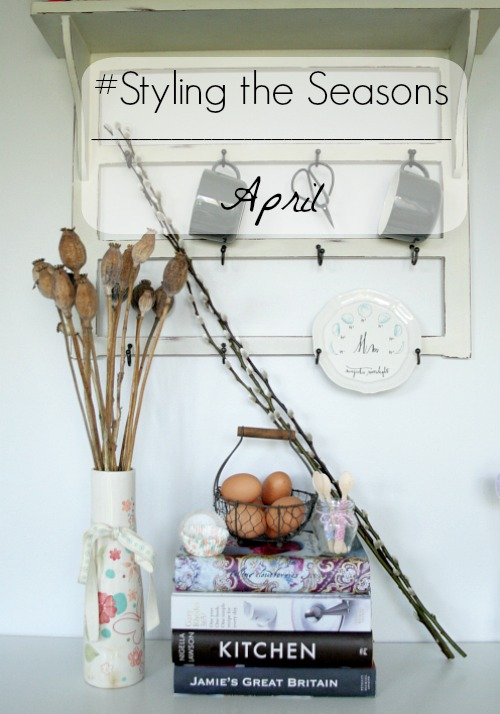 Styling the Seasons April title header