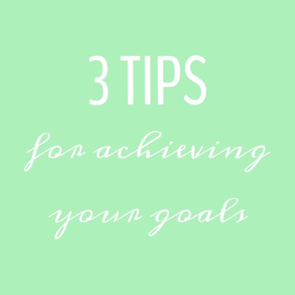 3 tips