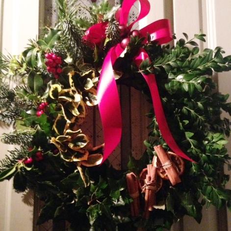 Door wreath home